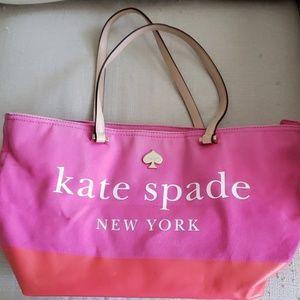 Kate Spade large zip top tote.